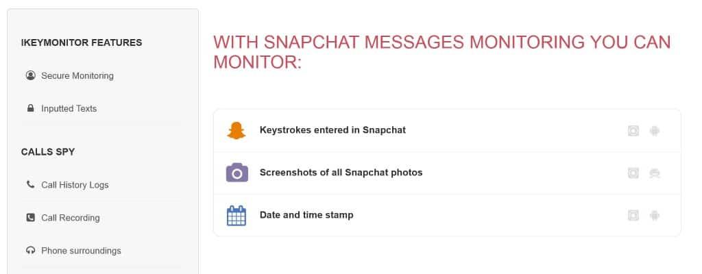 iKeyMonitor-snapchat